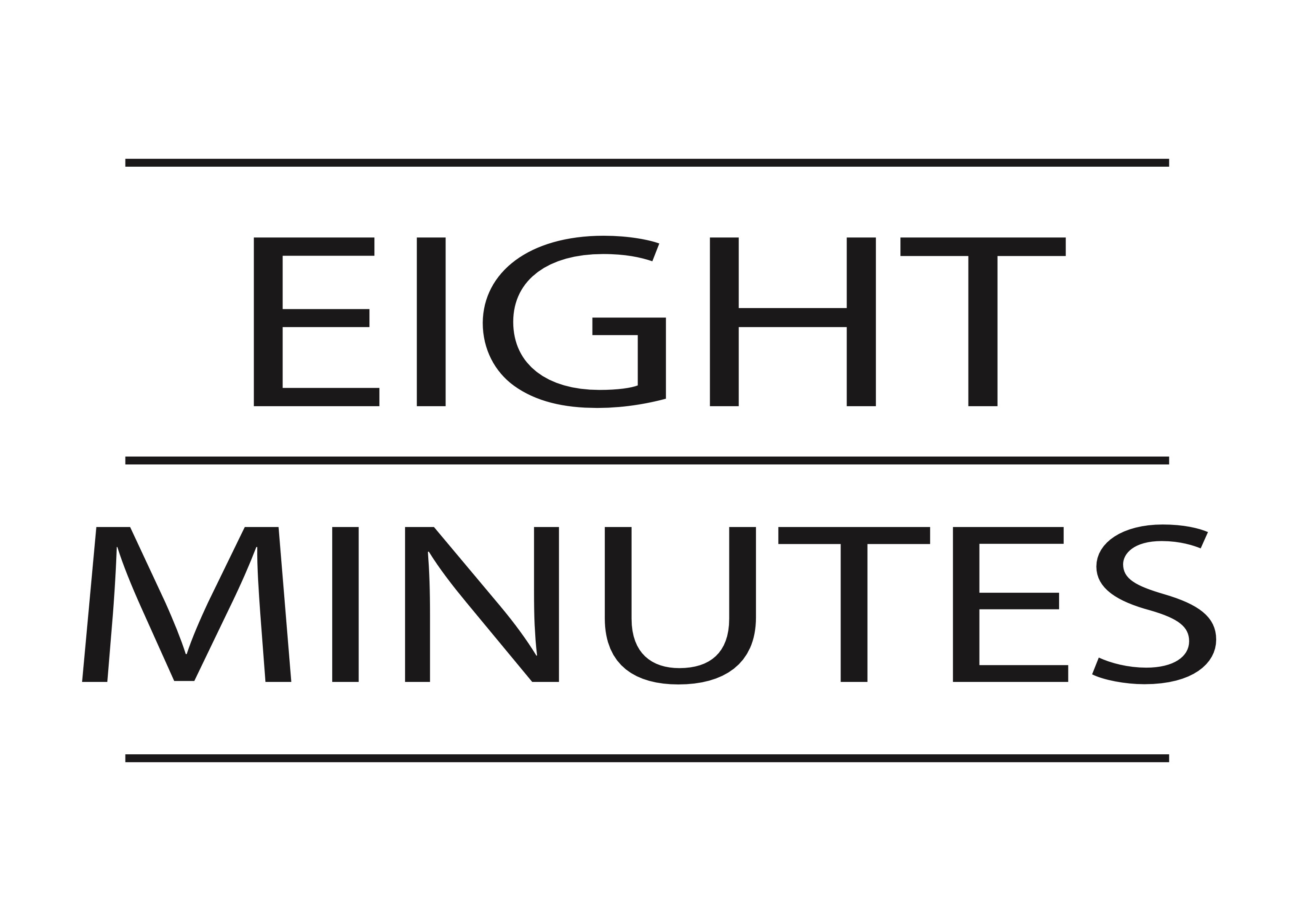 EIGHT MINUTES